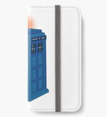 Tardis soft color  iPhone Wallet/Case/Skin