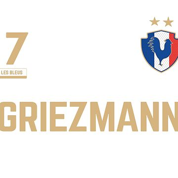 Antoine Griezmann 7 • World Cup Shirt ID G-3 by UNIQ-Apparel