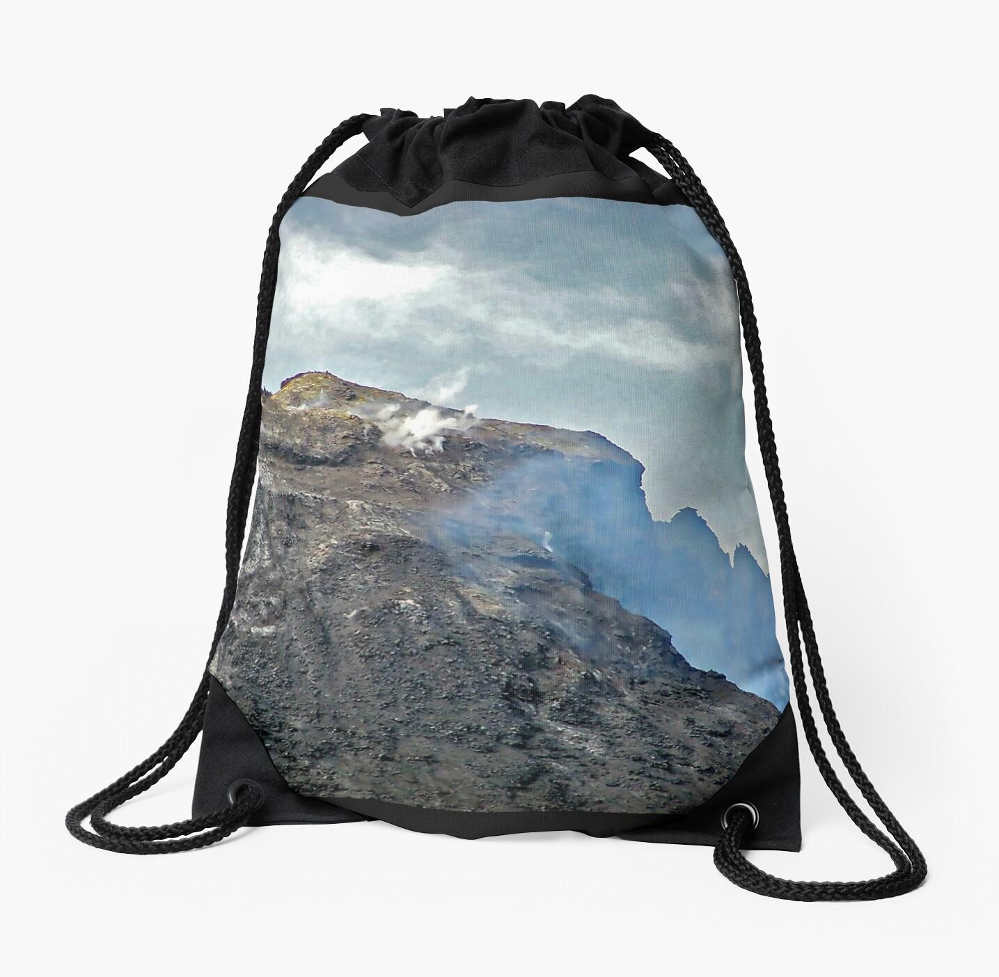 Mt. Etna (venting her temper) ! by Nancy Richard