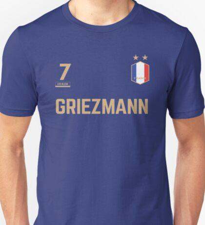 Antoine Griezmann 7 • World Cup Shirt ID G-1 T-Shirt