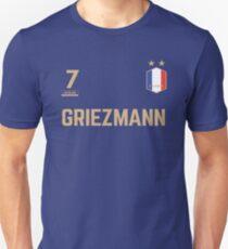 Camiseta unisex Antoine Griezmann 7 • Camiseta de la Copa del Mundo ID G-1