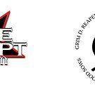 Grim D. Reaper YinYang Scythes and Original Black Star Logo Mug Design by moviecrypt