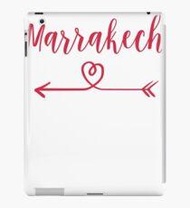 Marrakech Love Heart Handwriting Style iPad Case/Skin