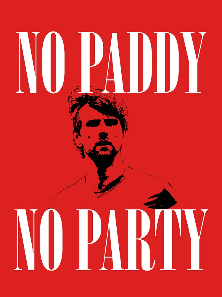 No Paddy No Party (White Text) by westonoconnor