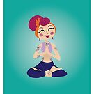 Pin Up Yoga 2 by prouddaydreamer