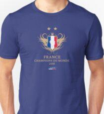France Champion Du Monde 2018 • Les Bleus • Football World Cup Champion 2018 ID 9-3 Unisex T-Shirt