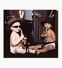 The Office  Angelas Saxophone Babies Photographic Print