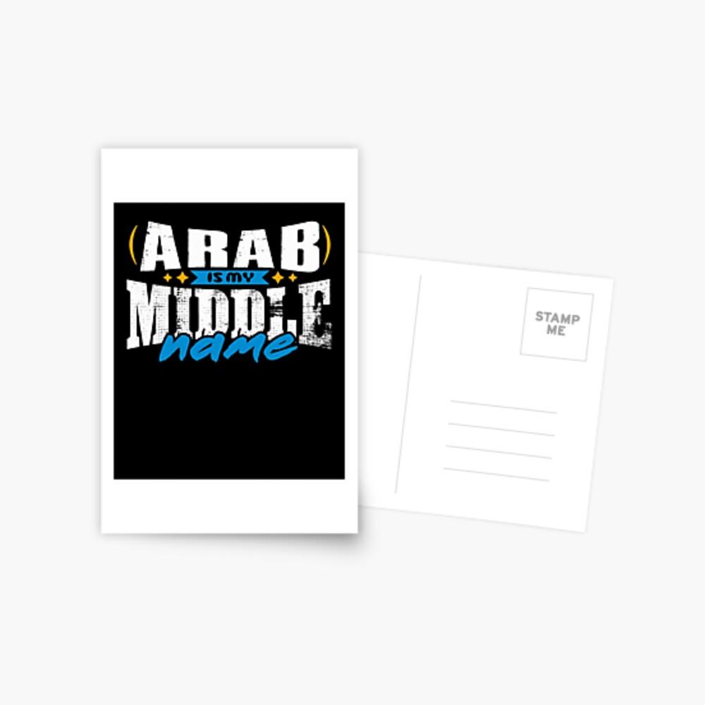 ARAB 01 Postcard