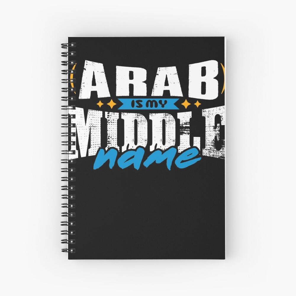 ARAB 01 Spiral Notebook
