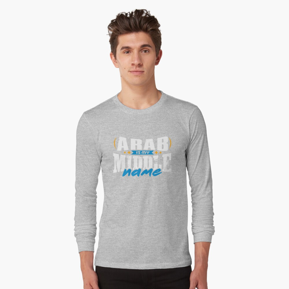 ARAB 01 Long Sleeve T-Shirt