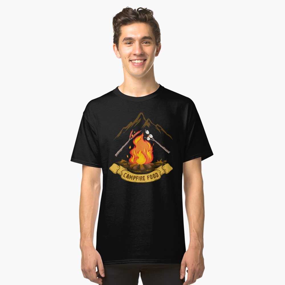 CAMPFIRE FOOD Classic T-Shirt Front