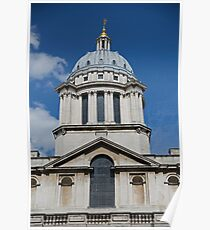 Royal Naval college in Greenwich Poster