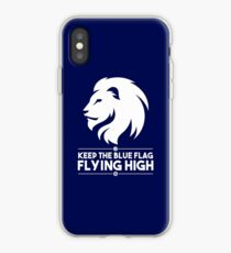 Keep The Blue Flag Flying High iPhone Case