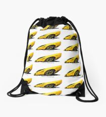 Super Car Art #15  We're Awesome  Drawstring Bag
