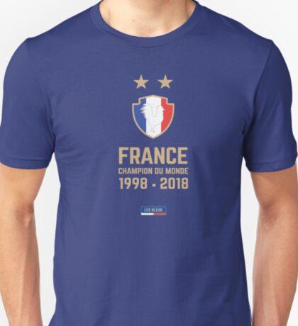 France Champion Du Monde 2018 • Les Bleus • Football World Cup Champion 2018 ID 6-3 T-Shirt