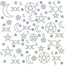Witchy Symbols by artdamnit