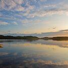 Sunset in Saimaa by Päivi  Valkonen