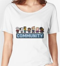 8-Bit Community  Women's Relaxed Fit T-Shirt