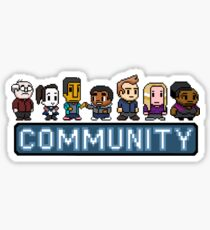 8-Bit Community  Sticker