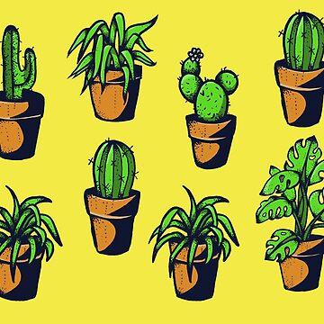 Plants pattern by ivyklomp