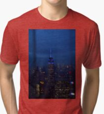 Empire State Building Tri-blend T-Shirt
