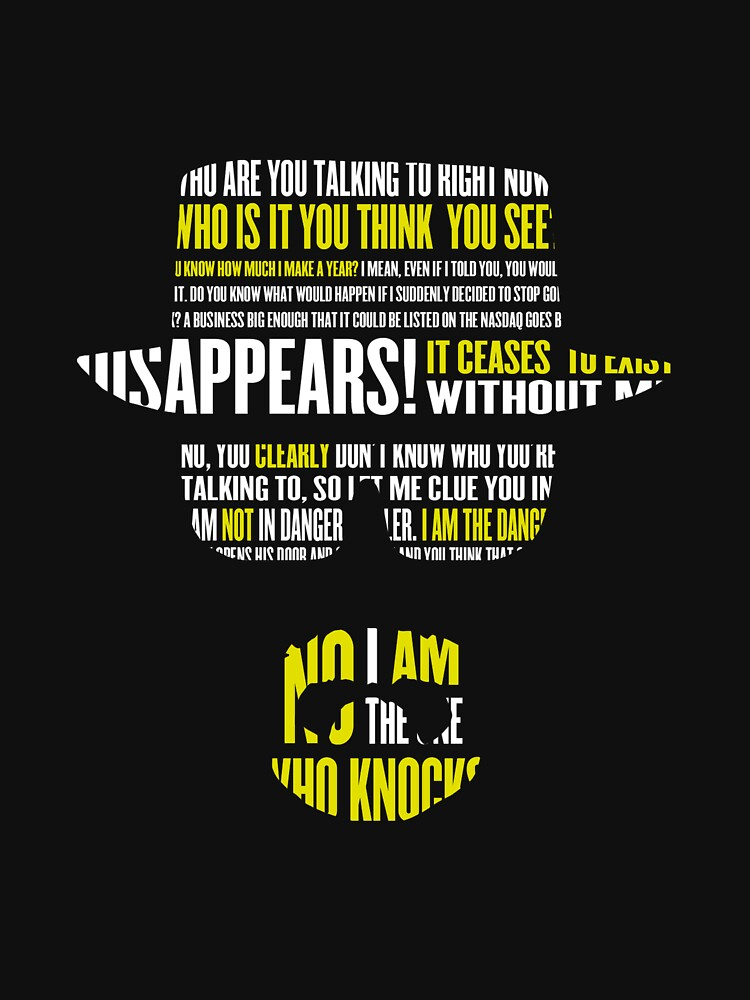 I am not in danger, Skyler. I am the danger. by kymsus