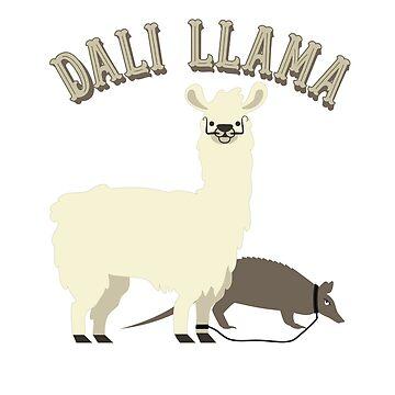 Dali Llama and Pet Anteater by ShikitaMakes