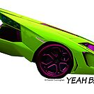Super Car Art - Yeah Baby by Photoart4U