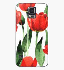 Tulips garden  Case/Skin for Samsung Galaxy