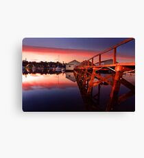 Mosman Bay Boatshed  Canvas Print