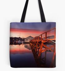 Mosman Bay Boatshed  Tote Bag