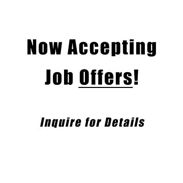 Job Offers by Phrazy
