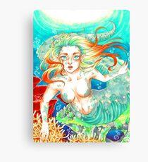 Rainbow Mermaid Canvas Print