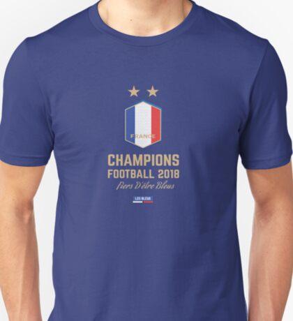 France Champion Du Monde 2018 • Les Bleus • Football World Cup Champion 2018 ID 2-2 T-Shirt