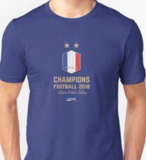 France Champion Du Monde 2018 • Les Bleus • Football World Cup Champion 2018 ID 2-2 Unisex T-Shirt
