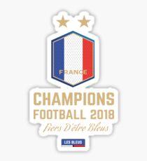 France Champion Du Monde 2018 • Les Bleus • Football World Cup Champion 2018 ID 2-2 Sticker