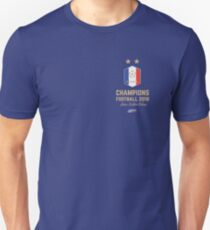 France Champion Du Monde 2018 • Les Bleus • Football World Cup Champion 2018 ID 2-1 Unisex T-Shirt