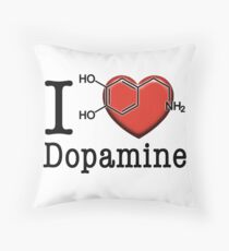 I love Dopamine Throw Pillow