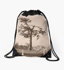Windy Tree Drawstring Bag