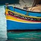 Marsaxlokk boat Malta by Patricia Jacobs DPAGB BPE4