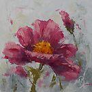 Pink Poppy #2 by MonicaBurnette