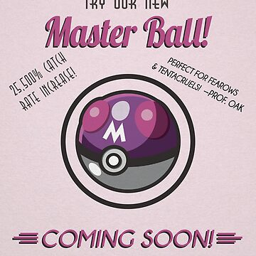 Retro Master Ball by AgentSilver