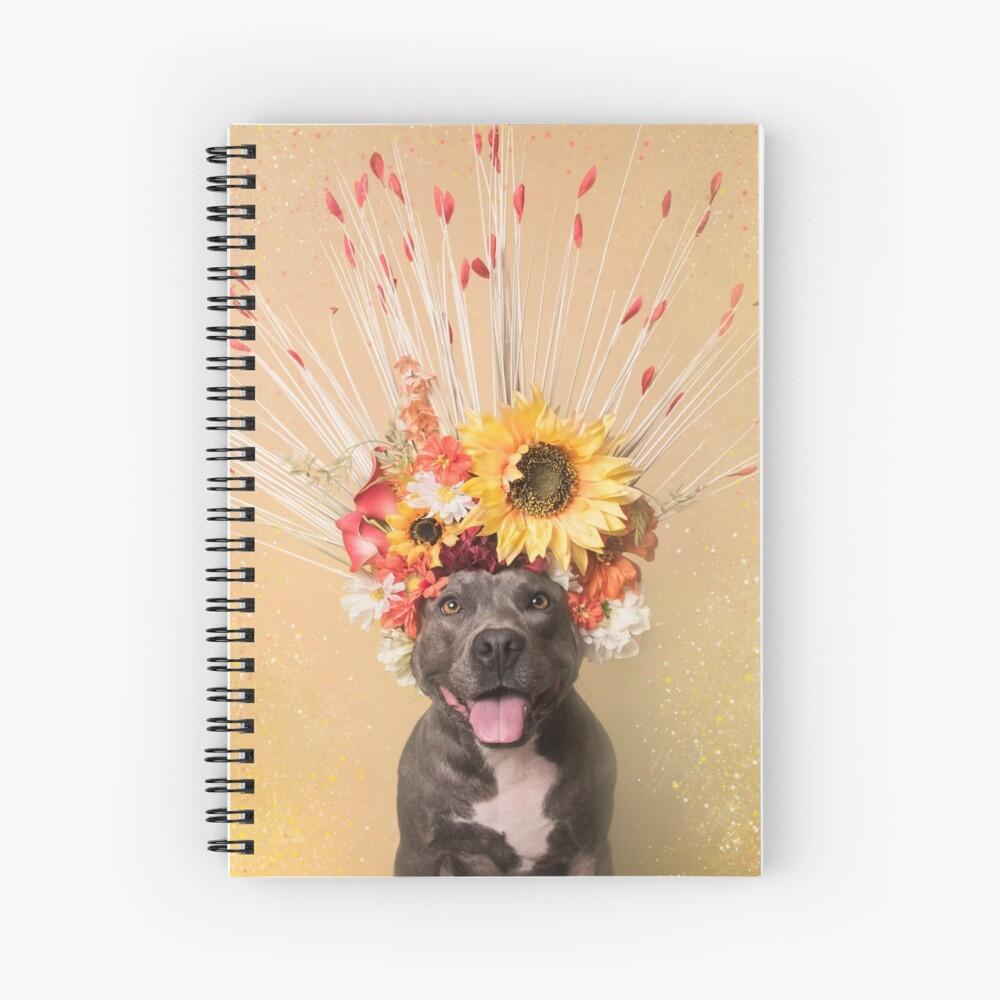 Flower Power, Holiday Spiral Notebook