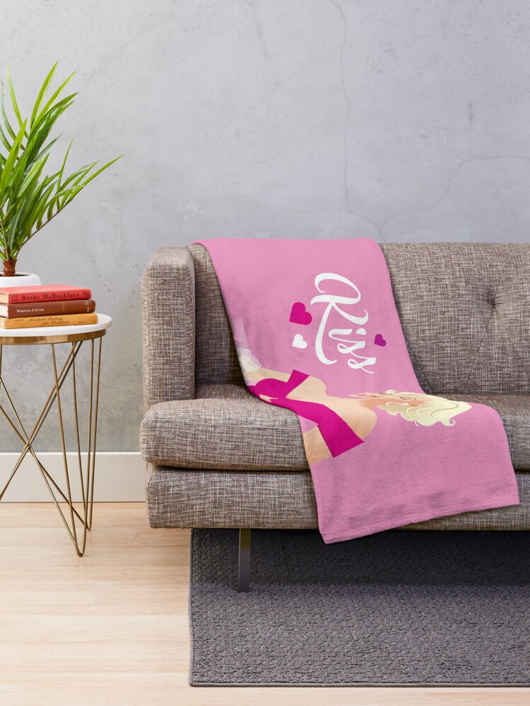 Alternate view of Marilyn Kiss Throw Blanket