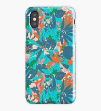 Brazil Hip Hop Pattern by Pepe Psyche iPhone Case
