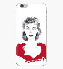 Burgundy or Scarlett iPhone Case