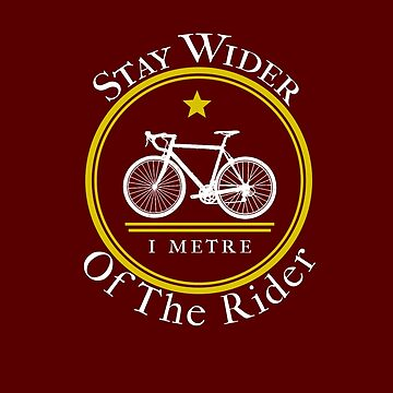 Stay Wider Of The Rider Cycling by triharder12