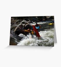 Kayak Nose Stand - Australia Greeting Card