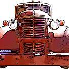 Heavy Duty Vintage Truck 1930's by RetroArtFactory