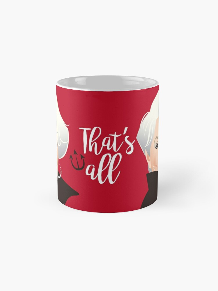 Alternate view of That's all Mug